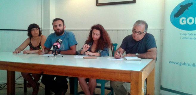 El GOB exige la derogación de la ley del suelo, de minas, la turística y la agraria