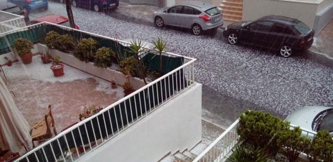 Mallorca recibe tanta lluvia en un solo día como en los 3 meses de verano