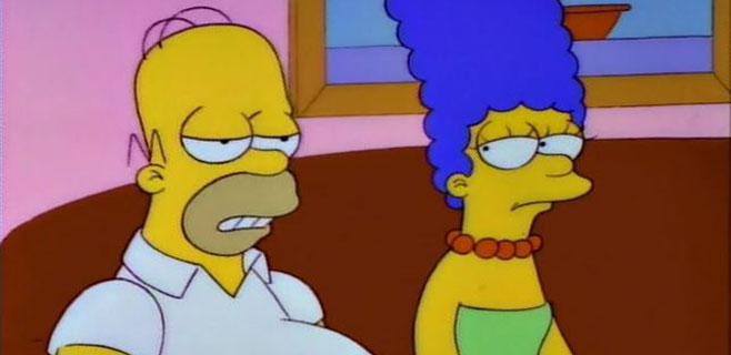 Homer y Marge Simpson se divorcian