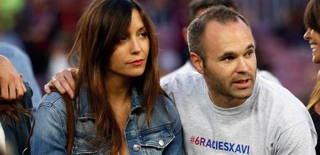AnnaOrtiz y Andrés Iniesta son padrespor segundavez