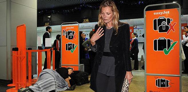 Kate Moss, expulsada de un avión por mal comportamiento
