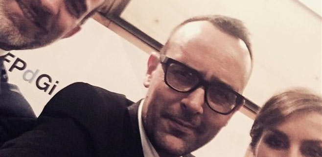 Risto Mejide presume de selfie con Felipe VI y Letizia