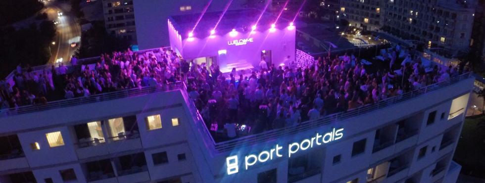 Inauguración del Sky Bar del Hotel OD Port Portals, una fiesta de 5 estrellas