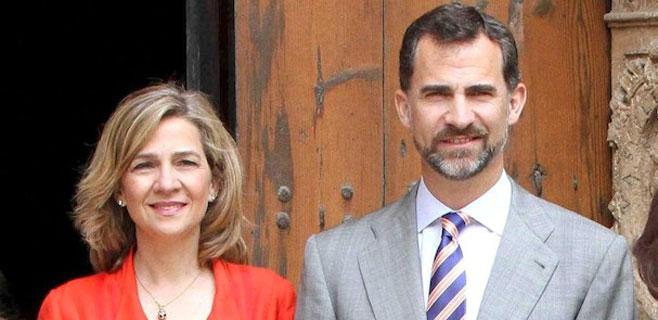 El BOE publica hoy la renuncia de la infanta Cristina al Ducado de Palma