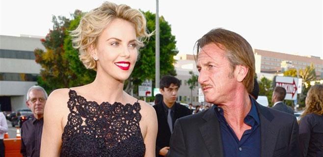 Charlize Theron dio el paso en su ruptura de Sean Penn