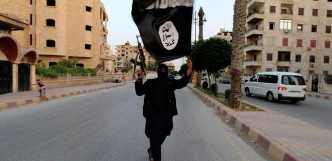 Un 'selfie' del Estado Islámico termina en bombardeo