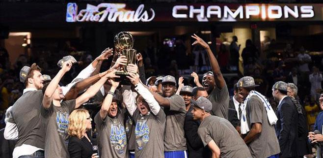 Golden State Warriors se proclama campeón de la NBA