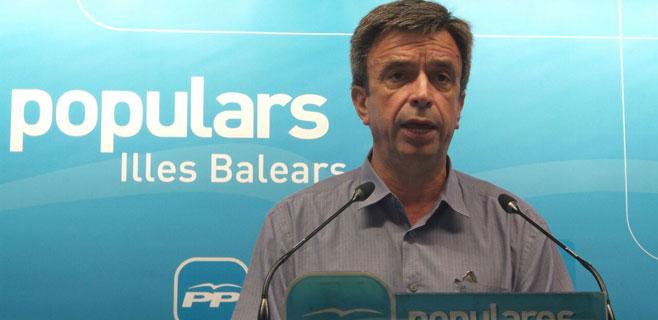 Miquel Vidal asume la presidencia interina del PP con