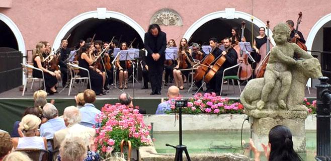 La Orquesta del Conservatorio de Palma brilla en Austria