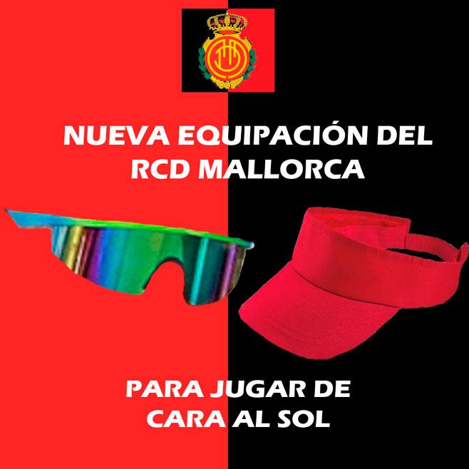 Nuevo kit para los jugadores del RCD Mallorca