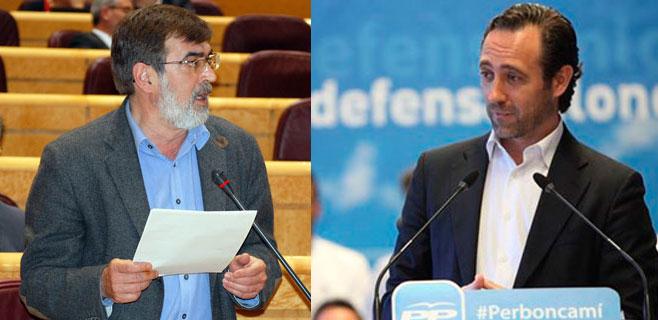 El Parlament designa a Francesc  Antich y José Ramón Bauzá como senadores