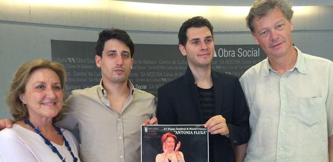 8 pianistas en el homenaje a Antonia Fluxà