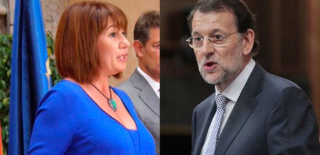 Armengol se reunirá con Rajoy en La Moncloa el próximo 2 de septiembre