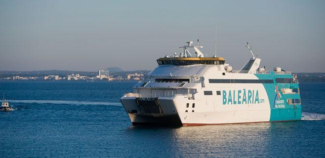 Baleària suma otra conexión diaria entre Alcúdia y Ciutadella