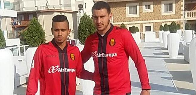 El Mallorca presenta a Vinicius Lima y Luis Felippe Carioca