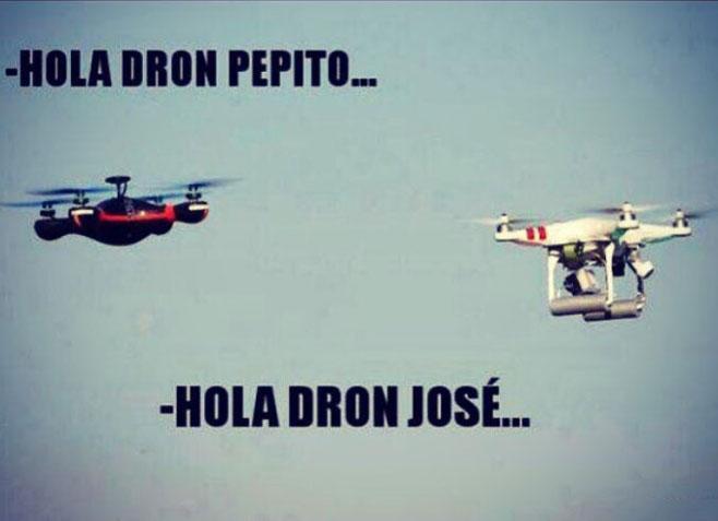 Los drones copan el cielo