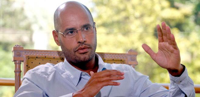 Condenado a muerte el hijo mayor de Gadafi