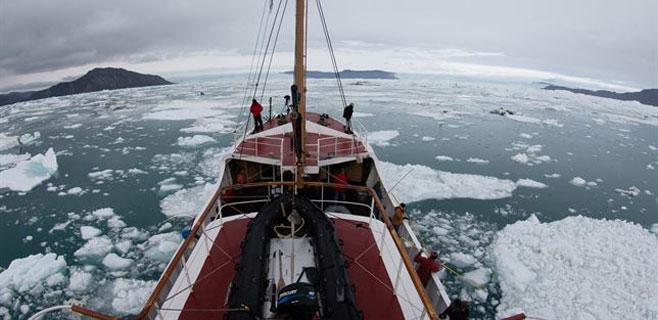 Los glaciares de Groenlandia se funden más deprisa