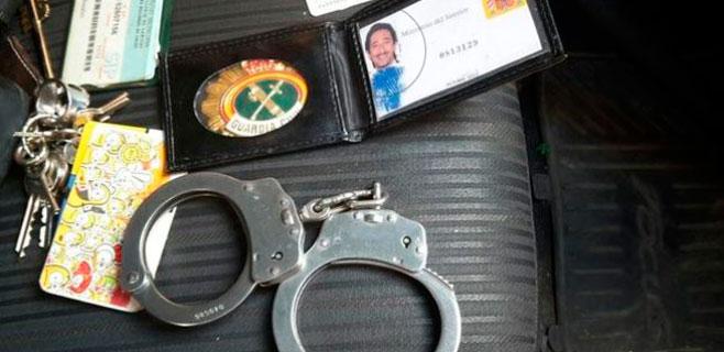 Un falso guardia civil usaba un carné con la foto de Adrien Brody