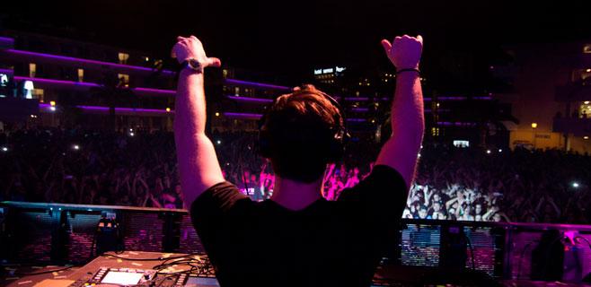 El DJ número 1 hace delirar a sus fans en el BH Mallorca