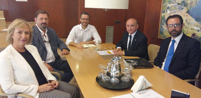 ASIMA ofrece un solar en Son Castelló para la instalación de un punto verde