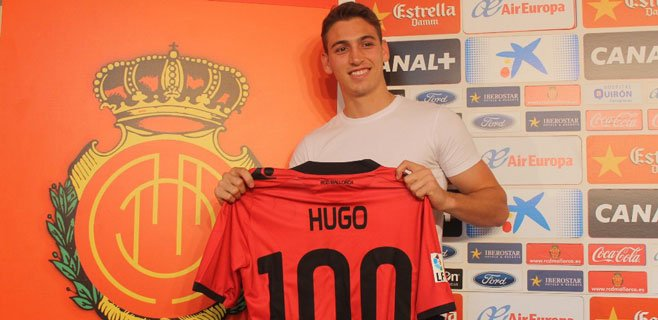 El brasileño Hugo Gomes llega cedido al Mallorca