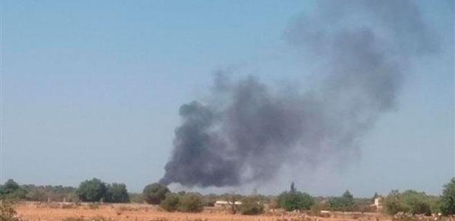 Incendio en una casa en Llucmajor
