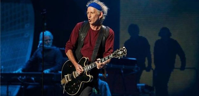 Keith Richards anuncia disco sin The Rolling Stones