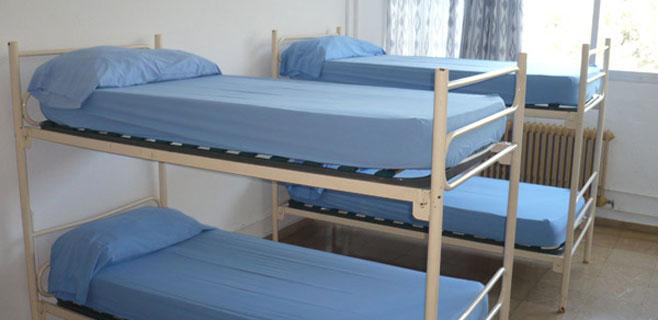Desalojados 40 niños del albergue de La Victoria por un pequeño incendio