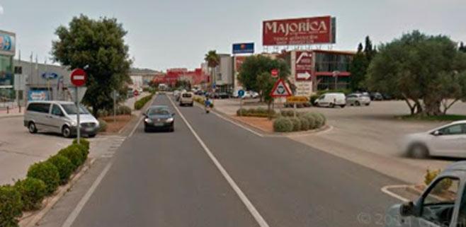 Herido el chófer de un autocar en un accidente a la altura de Majorica