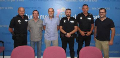 Reconocimiento del Ajuntament a la Brigada y la Policía