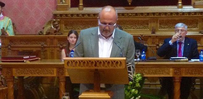 Miquel Ensenyat (Més) es elegido presidente del Consell de Mallorca