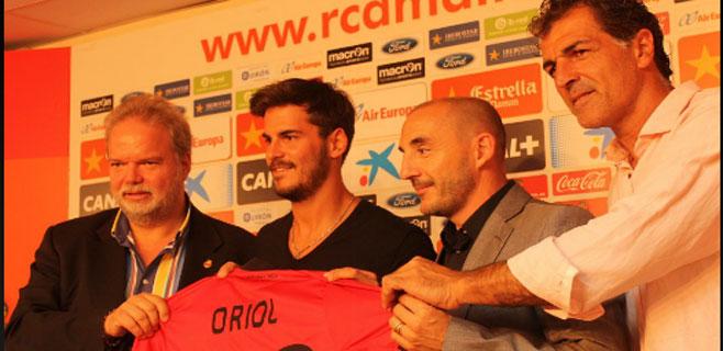 El Mallorca ficha al lateral Joan Oriol