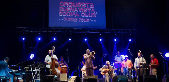 Port Adriano vibra al son cubano de Buena Vista Social club