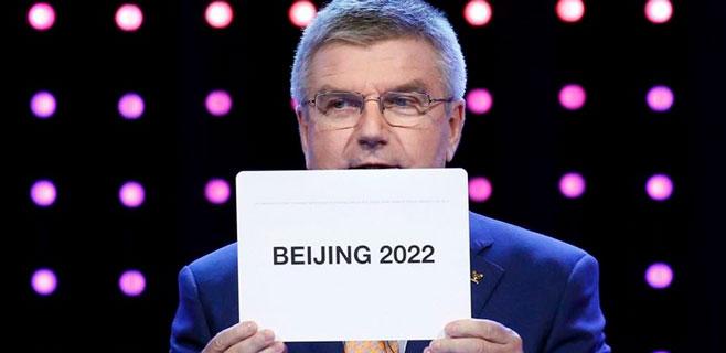 Pekín acogerá los Juegos de Invierno de 2022
