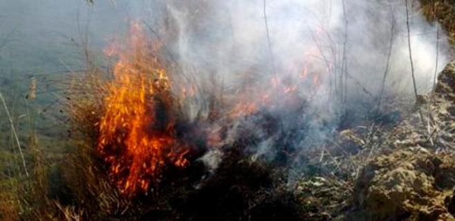 La ola de calor obliga a suspender las autorizaciones para quemar rastrojos