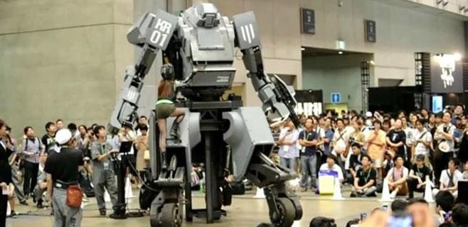Guerra de robots gigantes entre Japón y EEUU