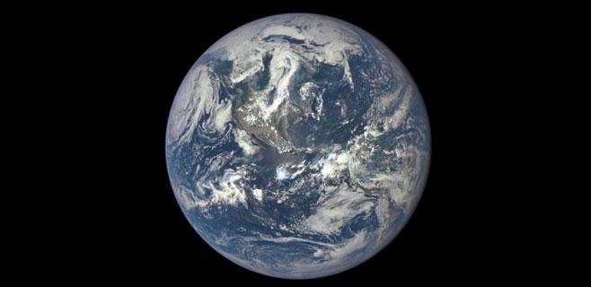 Así es la Tierra desde el espacio exterior