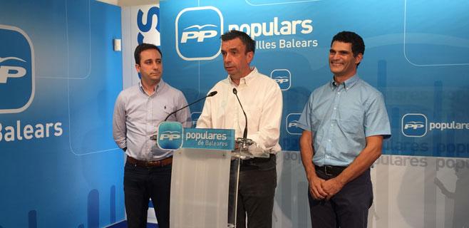 Andreu Ferrer y Antoni Mulet acompañarán a Miquel Vidal en el PP
