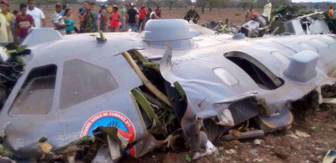 12 muertos en un accidente de avión en Colombia