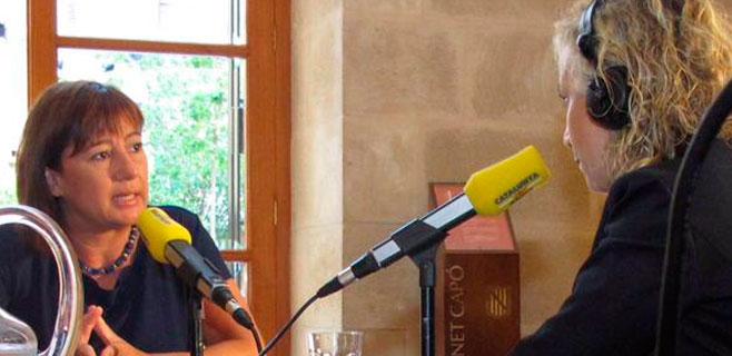 Armengol rechaza la postura de Gordó y apuesta por una España federal