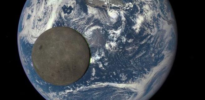 La NASA capta una foto de la cara oculta de la luna