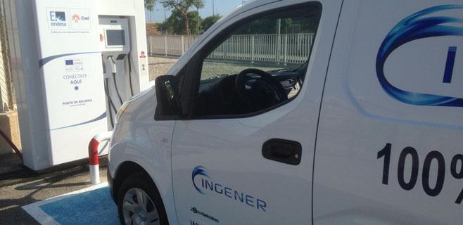 Endesa incorpora un coche eléctrico a su flota de vehículos