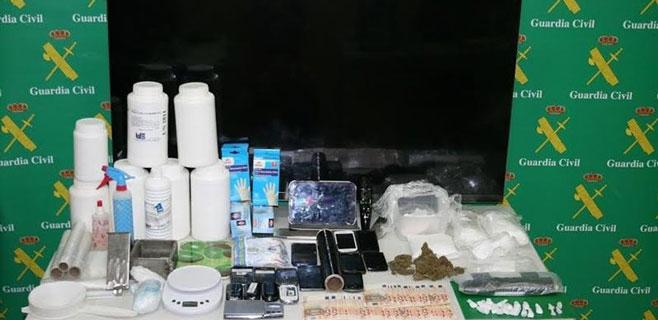 Varios detenidos en Palma y Alaró pertenecientes a una red de narcotráfico