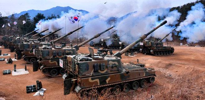 Disparos cruzados entre las dos Coreas