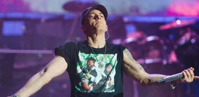 Eminem pasa del alcohol y las drogas a la adicción al ejercicio
