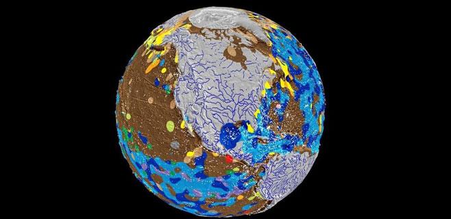 Creado el primer mapa del fondo marino de la Tierra