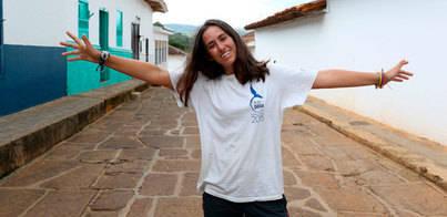Una 'sollerica' visita Colombia con la Ruta BBVA