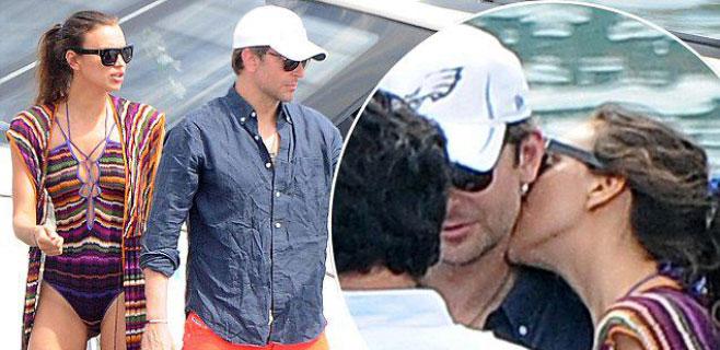 Irina Shayk vuelve a comerse a besos a Bradley Cooper