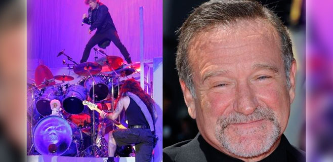Iron Maiden escribe una canción para Robin Williams